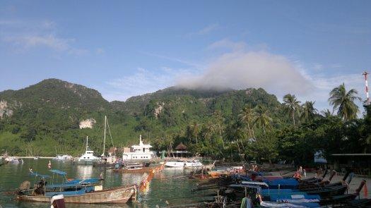 Hafen auf Kho Phi Phi